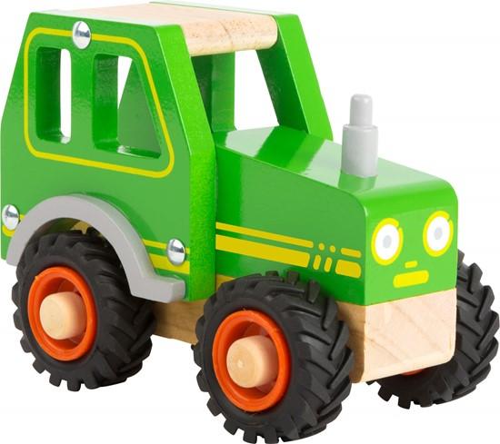 Billede af Træ traktor