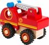 Billede af Lille brandbil i træ