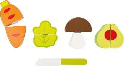 Billede af Grøntsager sæt i træ