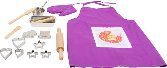 Billede af Bagesæt til børn m/ forklæde