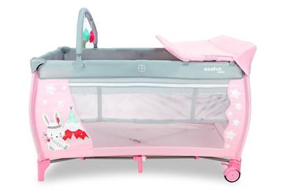 Billede af Weekend seng med puslebord - Asalvo - Rabbit tippi pink